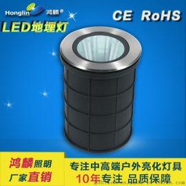 窄光束LED地埋灯_投柱子用埋地射灯