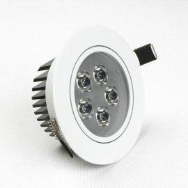 5W烤白漆LED天花射灯