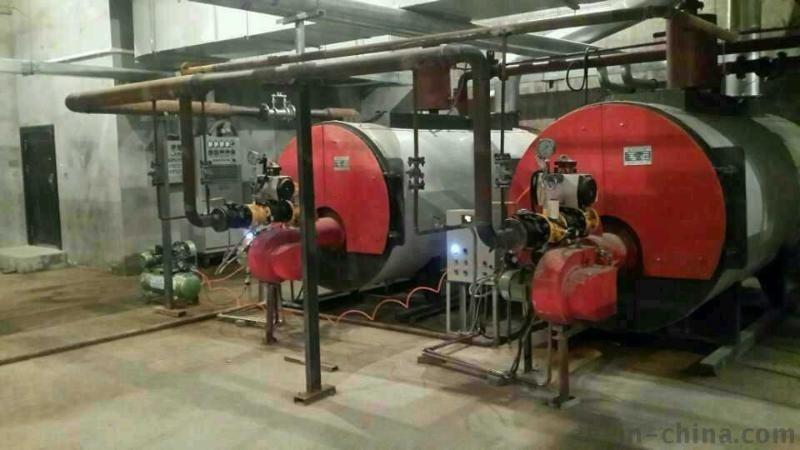 河北2吨天燃气蒸汽锅炉