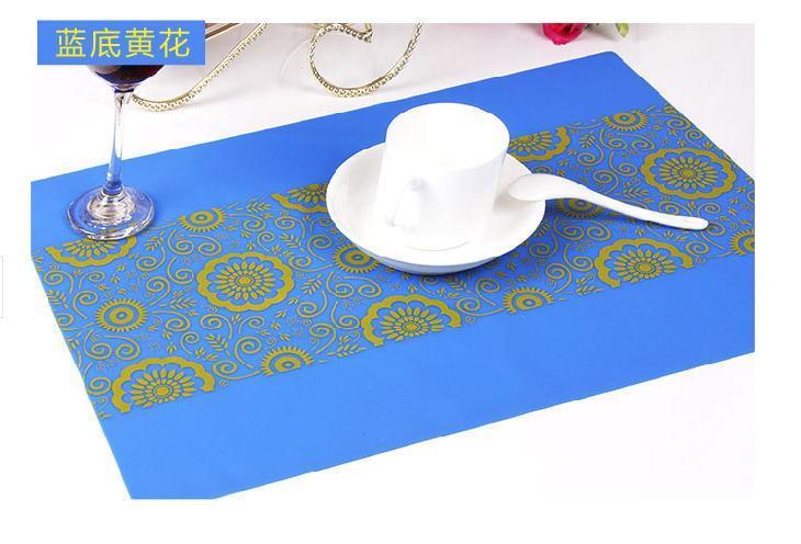 东莞源康专业生产各种硅胶餐垫 隔热垫
