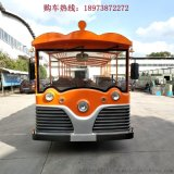 23座燃油观光车景区旅游观光燃油车贵州汽油观光车