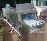 北京鹏飞全自动清洗餐盘机器1000型
