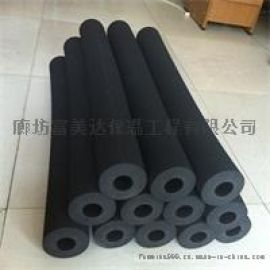 黑色橡塑保温管橡塑管壳隔热橡塑管