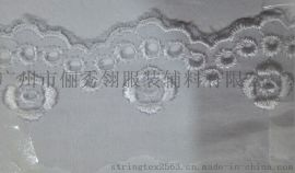 3.2CM刺绣棉布花边