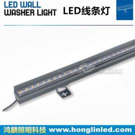 藏線安裝led線條燈_免線槽led線形燈_12w線條燈