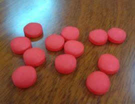 硅胶帽,新能源材料锂电池硅胶按键套,红色椭圆硅胶按键,60度硅胶帽,15*8.5*6.5MM硅胶按键