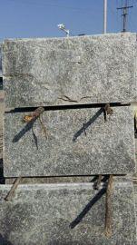 河北文化石厂家绿色蘑菇石 绿色文化石 绿色外墙砖