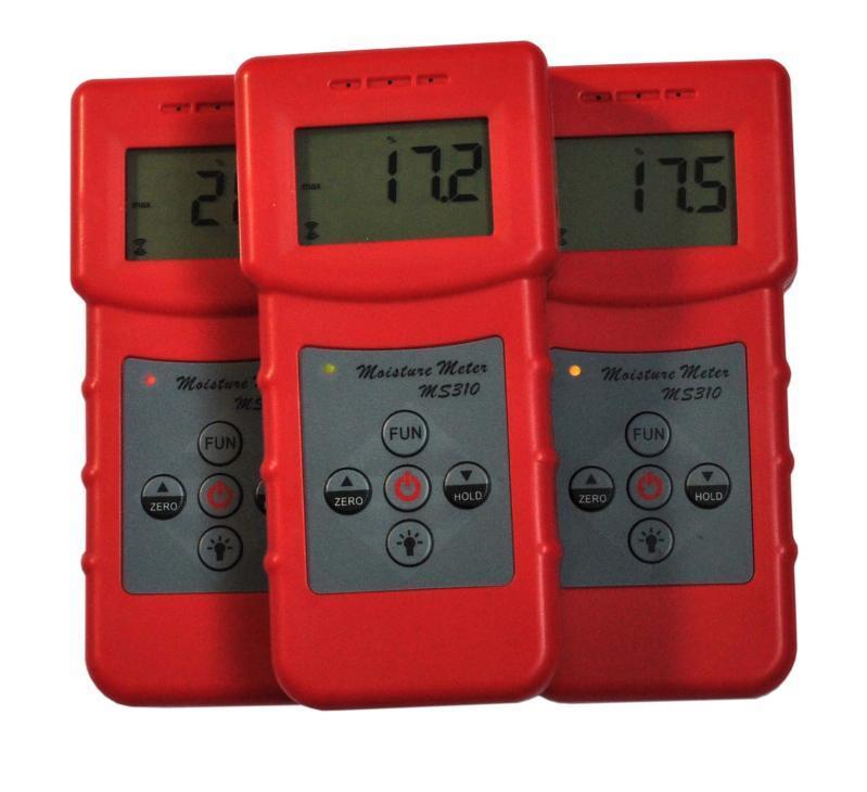 皮革水分测湿仪MS310