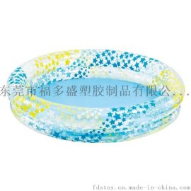 廠家福多盛訂做各類PVC充氣兒童戲水池 海洋球圓形方形水池 兒童嬰幼兒遊泳池