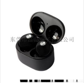 MOYABYLI 入耳式迷你耳機 東莞耳機工廠 新款雙耳無線iphone7蘋果藍牙耳機 運動款 身歷聲