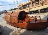 出售 乌篷船装饰 户外装饰船 景观船 纯手工制作小木船