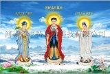印度供应大型宗教三维立体佛像宣传画批发三维立体宗教佛法宣传画制作