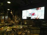 音乐餐吧拼接大屏|时尚餐吧拼接屏案例