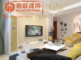 綠地新裏香榭麗公館114平三居室現代簡約裝修效果圖