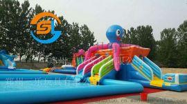 河北廊坊儿童游泳池支架水池现货游乐设备