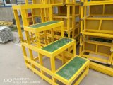 加工定制各种玻璃钢护栏 平台 玻璃钢爬梯