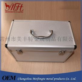 美丰特箱包厂 器材仪器铝箱  铝合金工具箱 精密手提铝箱工具箱