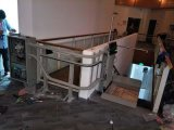石家庄 晋州市启运斜挂式电梯无障碍平台轮椅电梯