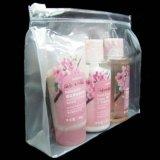 厂家批发 PVC时尚化妆收纳洗漱包 新款透明pvc化妆包热压 pe袋