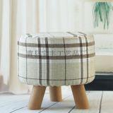 沙發小凳子換鞋凳創意布藝凳子小板凳實木圓凳穿鞋凳矮凳坐墩