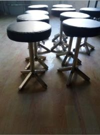 白鋼診察凳 診查凳  圓凳 醫用轉凳 凳 椅