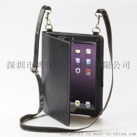 定制生產ipad air2掛繩款電腦皮套