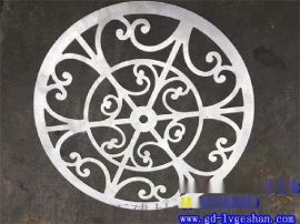 欧式铝窗花 门式铝窗花 方管焊接铝窗花 南宁铝窗花供应商
