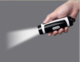 3W强光手电筒移动电源  户外旅行途步的好帮手