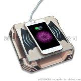 QI标准无线充电器 手机无线充电发射端 办公桌面无线充底座