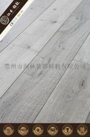 同步对花高密度复合强化地板塑木地板