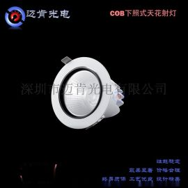 深圳迈肯光电MK3W外墙投射灯全铝材节能环保COB天花射灯