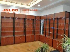 上海展柜厂家定制各种木质展柜,钛合金展柜