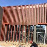 電器城外牆裝飾鋁方管【安裝有層次感】外牆立面四方管