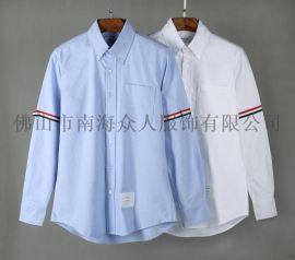 工厂直销TB衬衫系列高端品质牛津纺纯棉长袖情侣衬衫