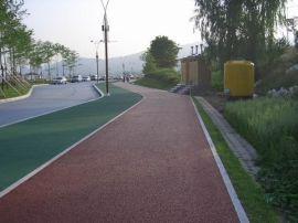 YZ98型黄色轻型透水混凝土路面施工中的注意事项