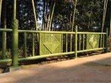 南宁仿竹护栏生产厂家|水泥仿竹护栏|铝合金仿竹