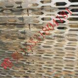 奥迪4S店专用梯形立体穿孔铝板