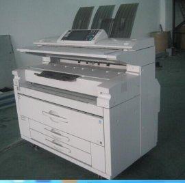 二手理光7140工程复印机数码打印机办公设备一体机
