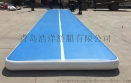 PVC 网布材质 高弹力 充气体操垫