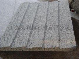 出入口坡道石,坡道铺地石,芝麻灰防滑地面砖