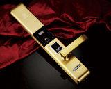 指纹密码防盗门锁哪家质量好?佳悦鑫品牌F9900型厂家包邮