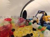 汉光展览昌吉儿童玩具熊猫岛气模现货出租汉光展览互动设备优惠出租