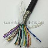 40芯0.12平方(26AWG)TRVSP20*2*0.12高柔耐磨耐折拖链双绞屏蔽电缆