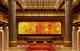 琉璃佛像 万佛墙定做 琉璃工厂为您全面制作佛像