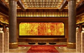琉璃佛像 萬佛牆定做 琉璃工廠爲您全面制作佛像