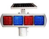 太阳能交通爆闪灯(4格单、双面) HK-JB204A