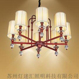 现代中式酒店走廊吊灯_新中式酒店过道吊灯【灯迷汇照明】
