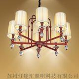 現代中式酒店走廊吊燈_新中式酒店過道吊燈【燈迷匯照明】