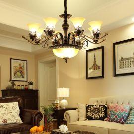 華高域  美式鐵藝吊燈  餐廳客房美式吊燈/批發直銷