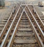 木枕50钢轨9号三开铁路道岔